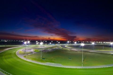 مضمار دبي لسباق الخيل