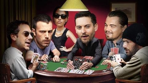 ممثلين مشاهير يلعبون قمار